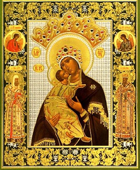 Икона Волоколамская Икона Пресвятой ...: serafimsarov.prihod.ru/ikony